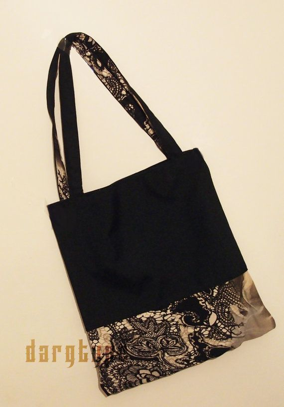 B&W bag by Dargtype