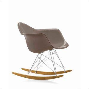 Charles Eames RAR gungstol - gråbrun
