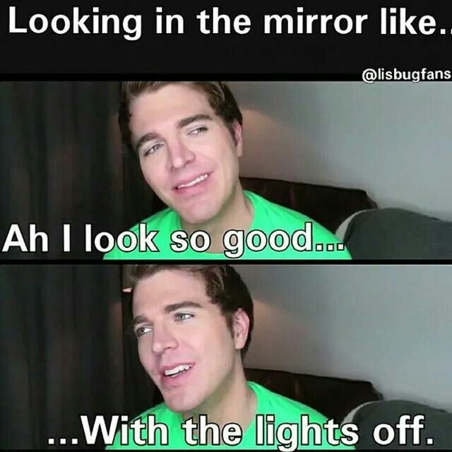 Shane Dawson is literally me love you Shane                                                                                                                                                     More