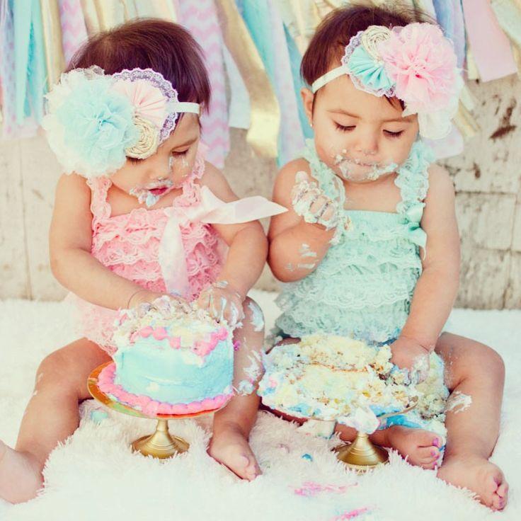 Картинки с днем рождения для девочек близняшек