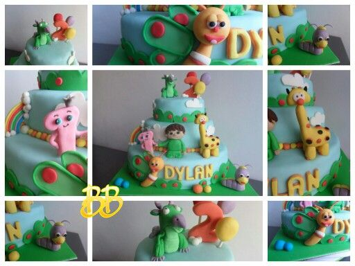 Baby tv cake first time making it.
