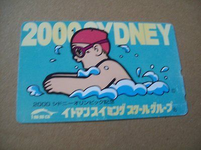 Sydney #australia #olympics on used #phonecard fm japan (olym 190),  View more on the LINK: http://www.zeppy.io/product/gb/2/370632951908/