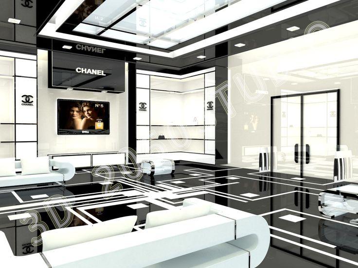 Chanel Boston Store Interior