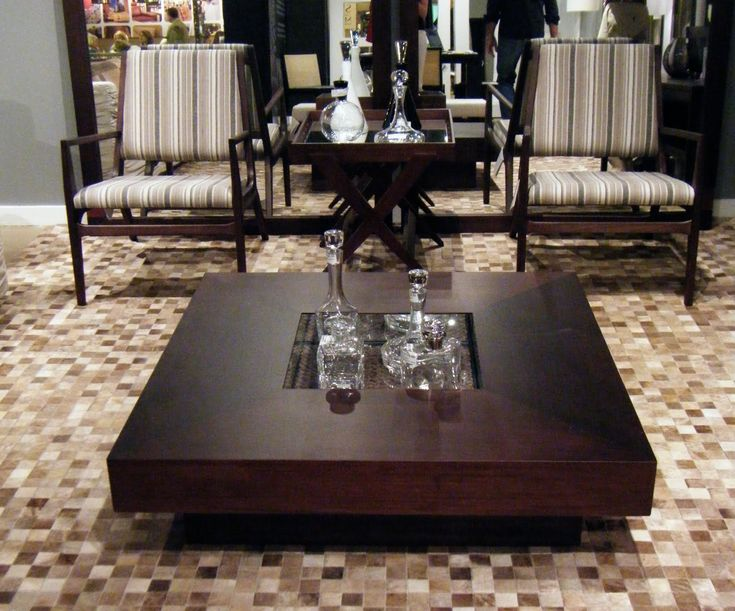 Cool Modern Masculine Furniture Inspiring Decorative Wood Square Shaped Low Coffee Table Living Room Tables And