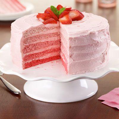 Ombre Cake Recipe Nz