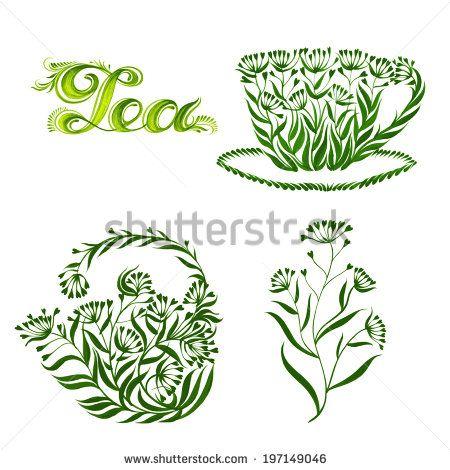 петриковская стилизация на тему чая