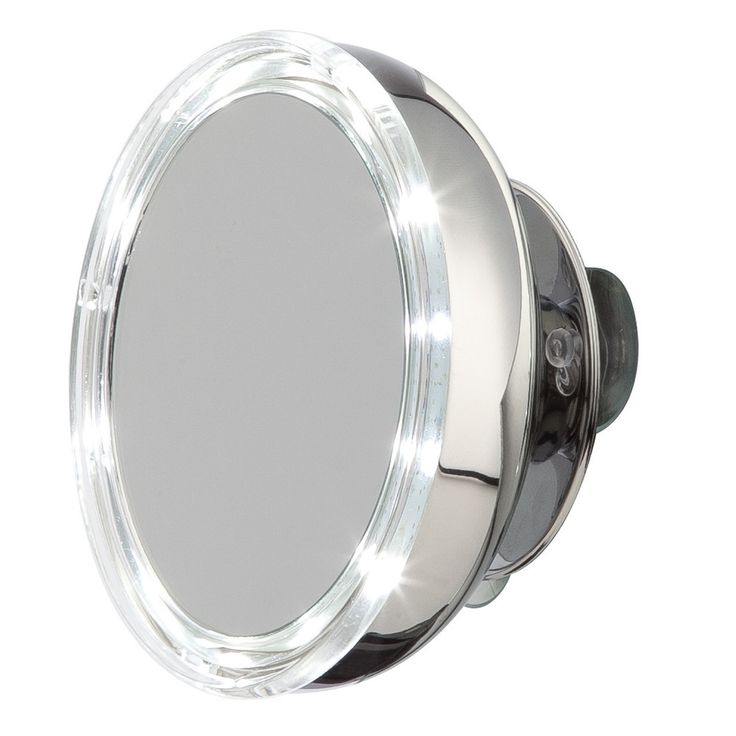 Discover the Moeve Miroir Grossissant LED Acier Inoxydable  - S at Amara
