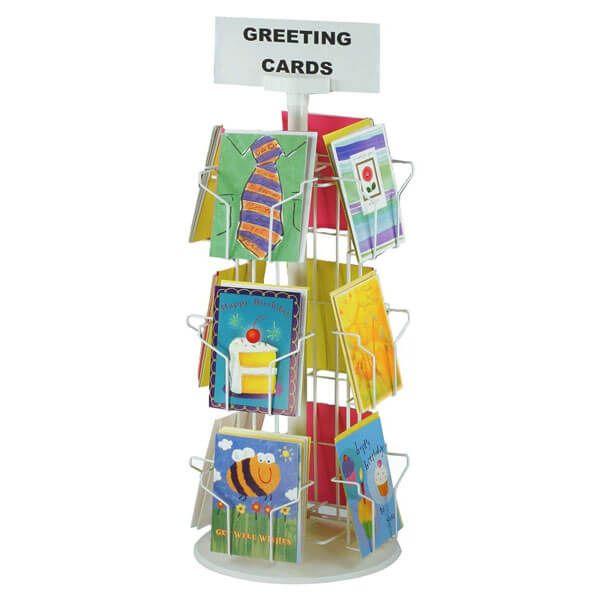 greeting card display stand