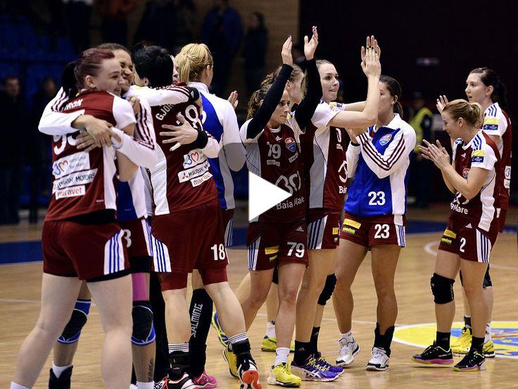 **VIDEO** Savehof - Baia Mare 26-28. Multe emoții pentru primul succes în grupele principale