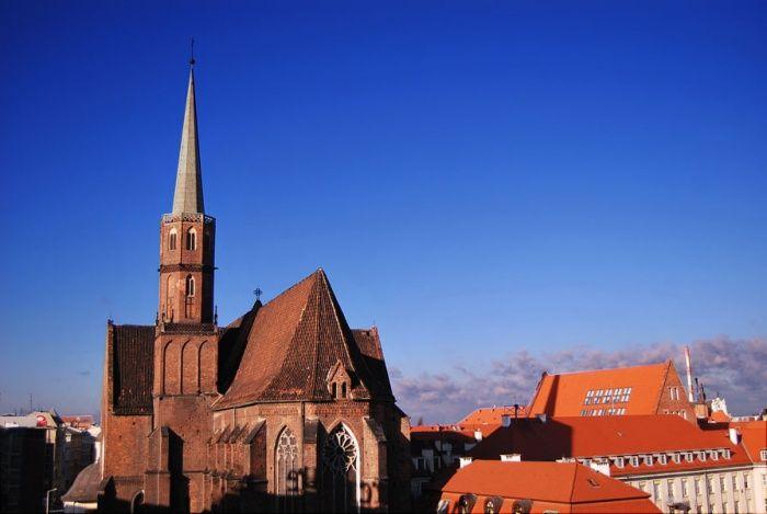 Klasztor wrocławski. #dominikanie #wrocław #klasztor #kościół