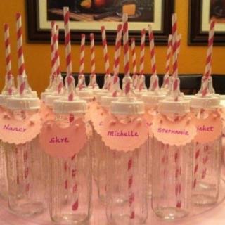 Baby Bottle Drinking Glasses