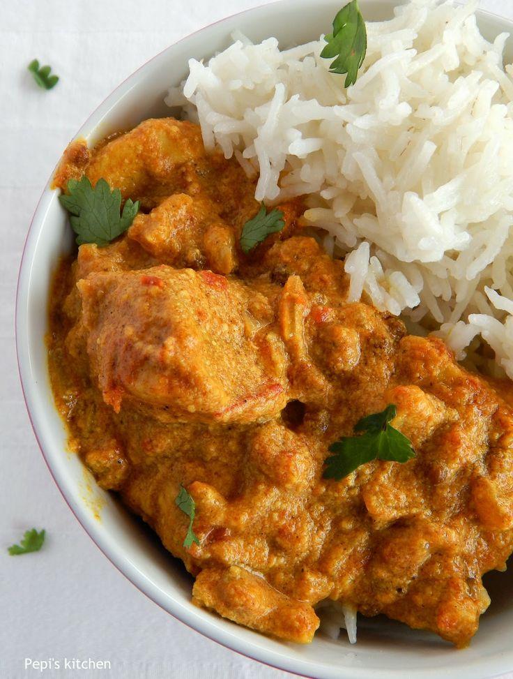 Ινδικό Κοτόπουλο Κόρμα http://www.pepiskitchen.blogspot.gr/2014/06/indiko-kotopoulo-korma.html#more