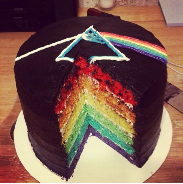 Pink Floyd cake Pink Floyd Pinterest The o jays ...