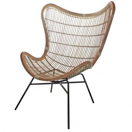 <p>El asiento de la sillaRattan Egg Chairha sido fabricado en ratán y su escructura en metal de color negro. Perfecto para decorar con alguno de nuestros cojines.<br /><br /></p> <p>Forma una combinación perfecta con el Taburete Rattan Bar y con la Silla Rattan Dinning Chair también disponible en nuestra web.<br /><br /></p> <p>Medidas:<br /><br /></p> <p>Ancho: 87.5 c...