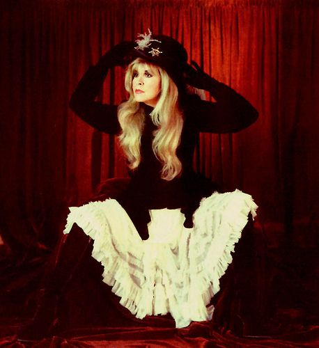 Stevie Nicks, she has such awesome poses sometimes, seriously! I need to get a whole set done like her poses..