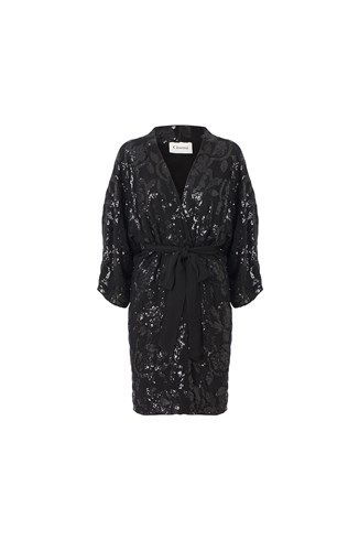 Ganni sequin kimono - can be used as a dress as well. I simply love this piece. May 2014