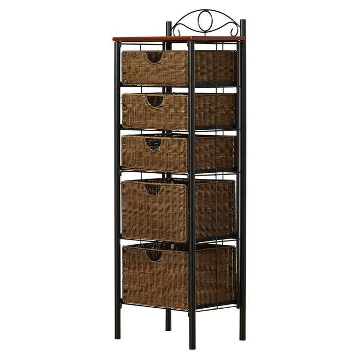 Rebrilliant Durdham Park 5 Drawer Storage Chest & Reviews | Wayfair   – Kitchen/Living/Dining Room/hall/stairs remodel