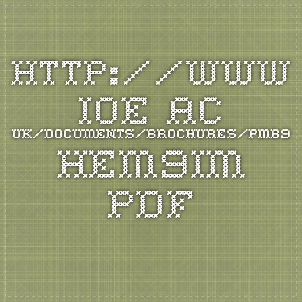 http://www.ioe.ac.uk/documents/brochures/PMB9_HEM9IM.pdf