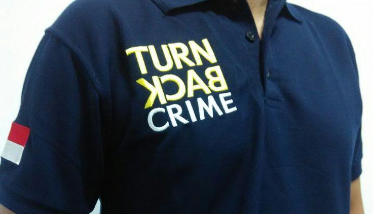 KAOS POLO TURN BACK CRIME | PALINGYESS.COM | BERITA UNIK, DUNIA ANEH, VIDEO DAN GAMBAR LUCU