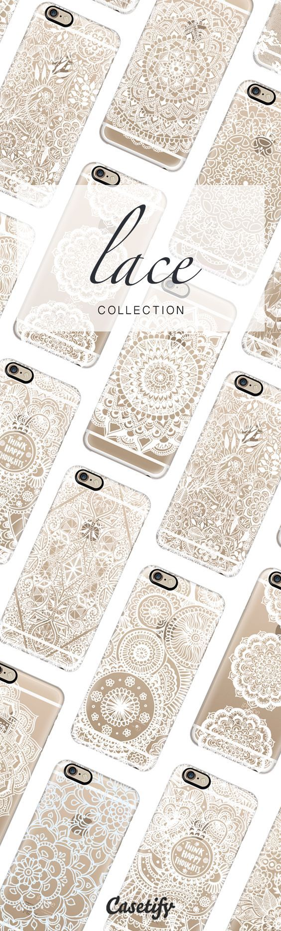 Let there be lace. Lace Phone Case