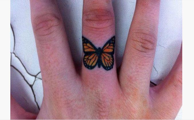 19 Monarch Butterfly Tattoo –  # –  #