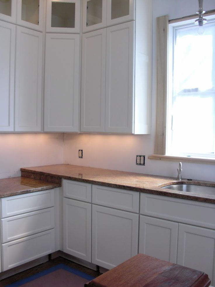 glass cabinets above standard size | Kitchen cabinets ...