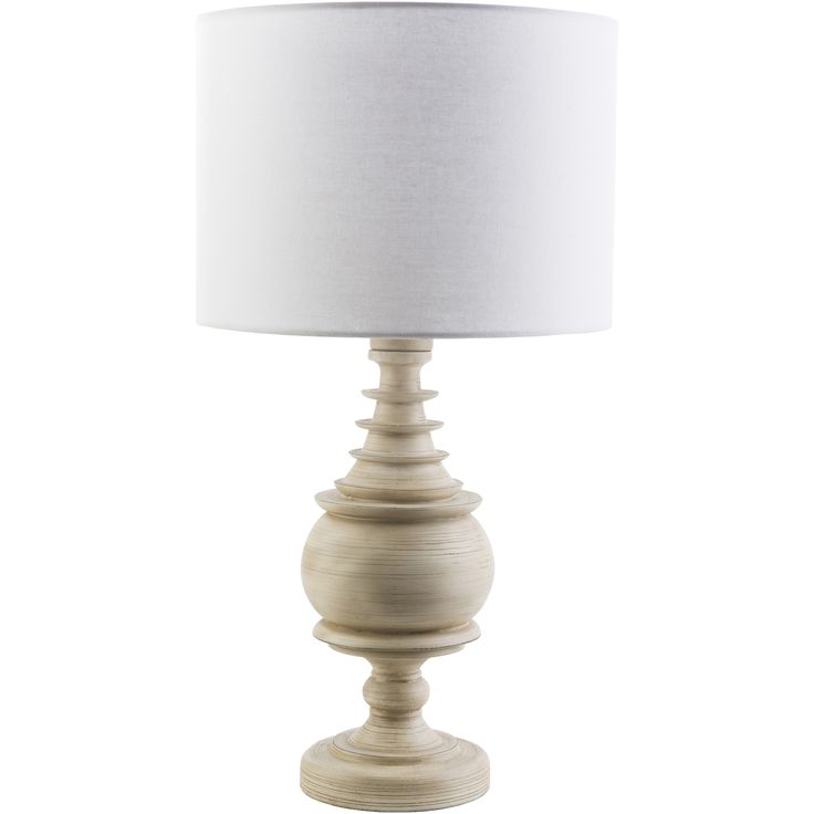 Chantilly Indoor/Outdoor Table Lamp, White