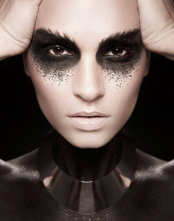Dark Makeup: 1000+ Ideas About Fantasy Makeup On Pinterest