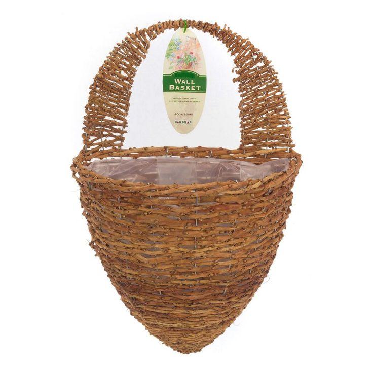 1000 ideas about wall basket on pinterest woven baskets storage baskets and market baskets - Wicker beehive basket ...