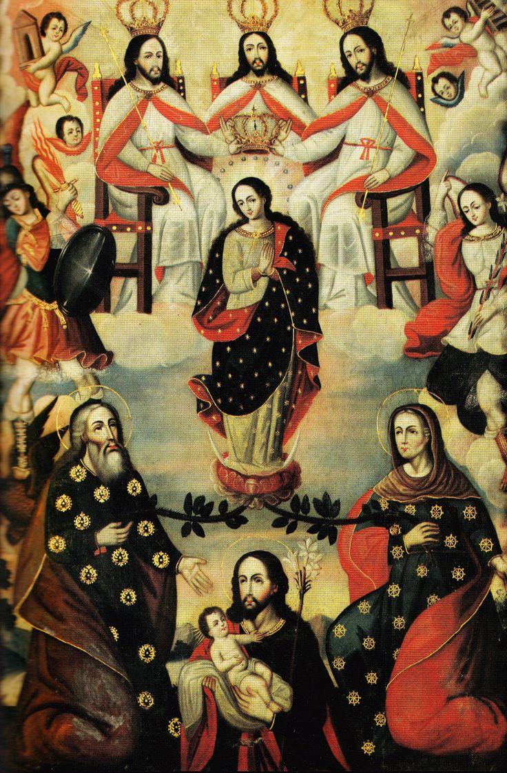 Vírgen María y el Árbol de Jessé
