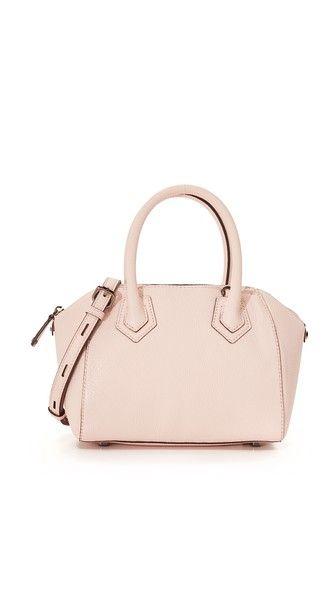 pebbled leather mini satchel @RebeccaMinkoff