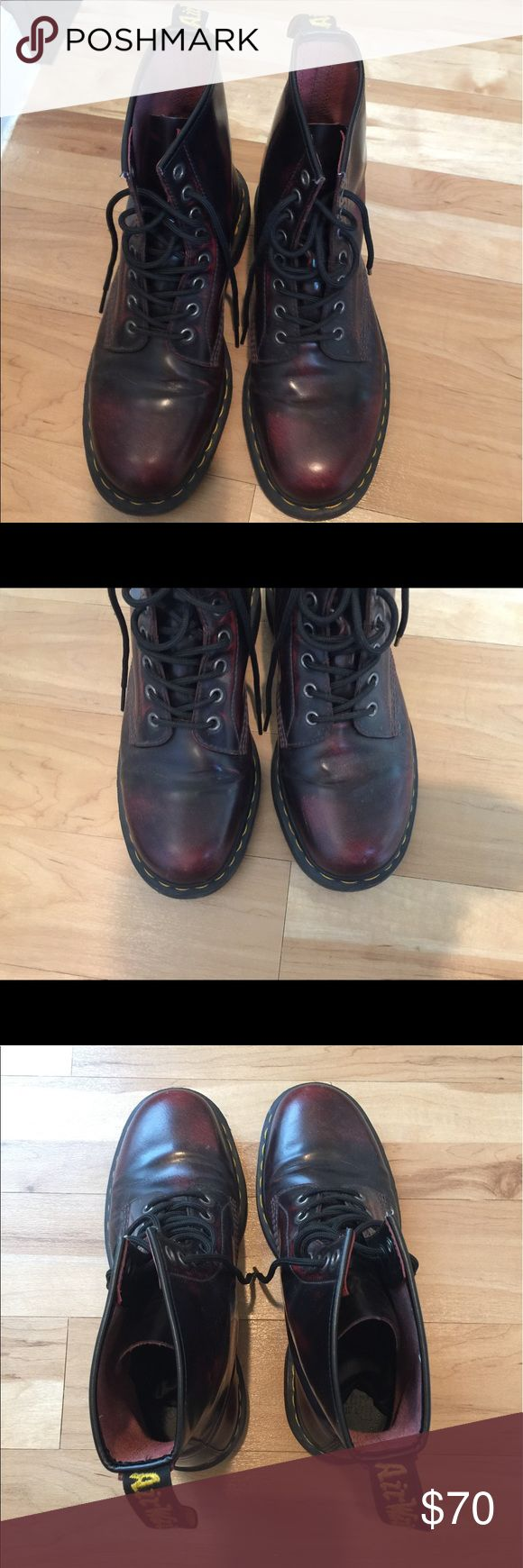 Dr Martens Men's Boots, Size US 9M Perfect condition. Size see last photo. Feel free to request more close up photos. Dr. Martens Shoes Boots