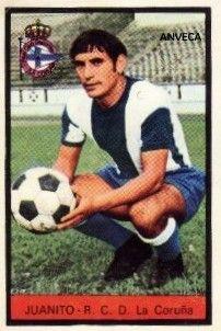 JUANITO (R.C.D. La Coruña) - 1972-73)