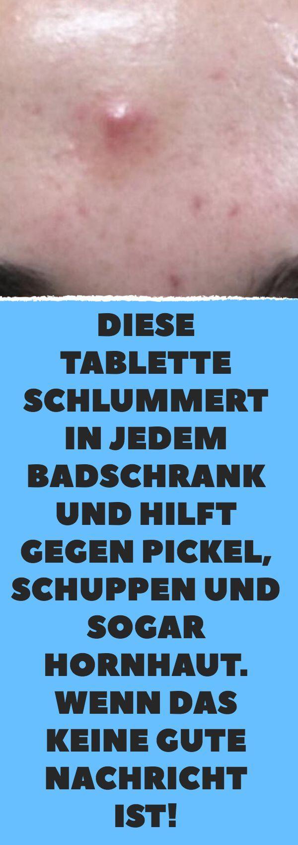 Diese Tablette schlummert in jedem Badschrank und hilft gegen Pickel, Schuppen u… – http://venue-toptrendspint.jumpsuitoutfitdressy.tk