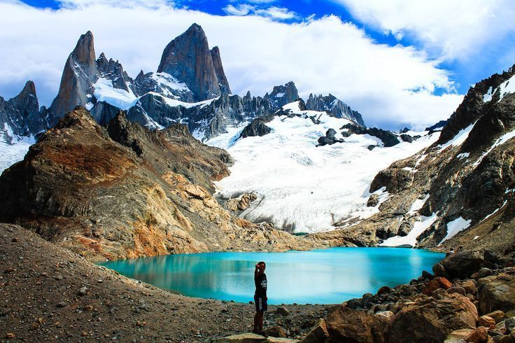Great view of Fitz Roy, Argentina Patagonia