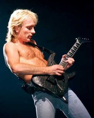 phil collen def leppard | as usual, shirtless!