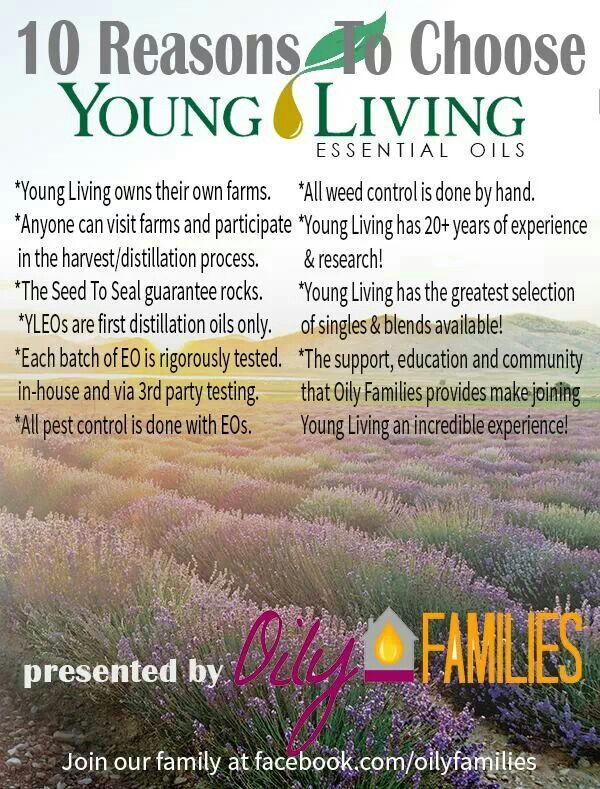 Check out all the great reasons why I LOVE and use Young Living Essential oils and products! To get started go to http://www.naturallyoilymom.com
