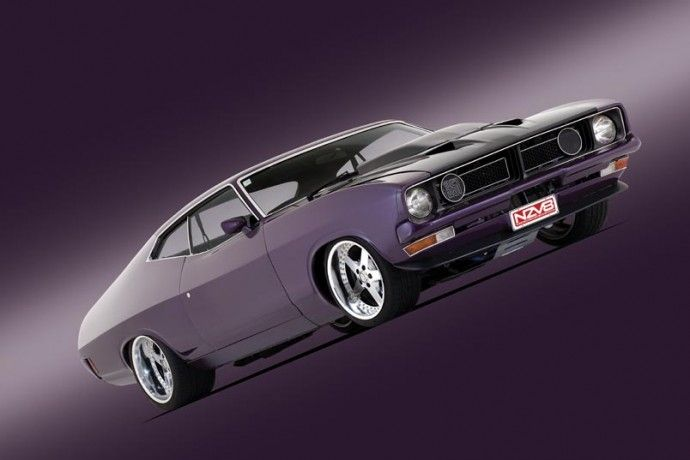 Ford Falcon XB...Every boy grows up to have his bigger toys....HUH.....