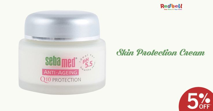 Buy Sebamed Anti-Ageing Q10 Protection Cream 50 Ml Online at Redbell.com. Shop Now #cream #sebamed #Protectioncream #skincare #online #shopping #delhi