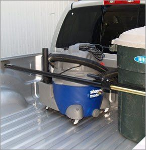 """HitchMate Cargo Stabilizer Bar for Compact Trucks - The HitchMate Cargo Stabilizer Bar is one of the strongest cargo bars available on the market. It extends from 50"""" to 65"""" to fit a wide variety of compact truck bed widths. This bar is easy to adjust and features a heavy duty ratcheting system which adjusts and expands. The HitchMate Cargo Stabilizer Bar is ideal for cross-town trips or longer road trips at highway speed. Automotive > Towing. Weight: 9.00"""