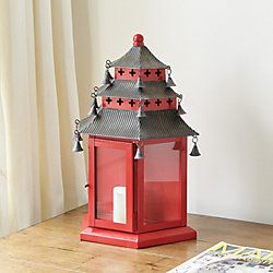 Pagoda Candle Sconce
