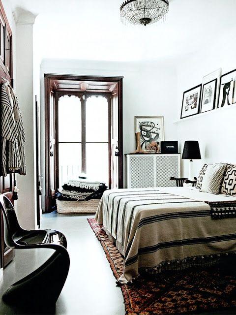 Bedroom textiles, home of Malene Birger