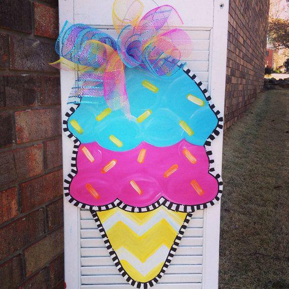 173 best Seasonal Door Decor images on Pinterest Burlap door - healthcare door hanger