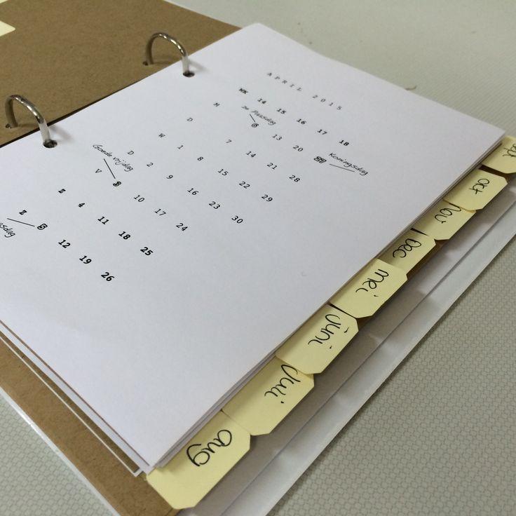 65 best Van onze tafel agenda maken images on Pinterest Atelier - agenda
