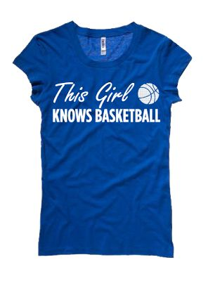 This Girl Knows #Basketball #Tee www.thestyleref.com