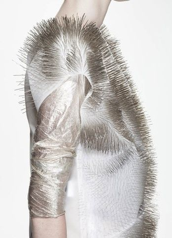 Viral Style: Talking 3D Printed Shoes And Sound Responsive Clothing With Dr. Sabine Seymour   The Creators Project
