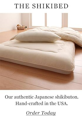 Japanese-style mattress, shikibuton