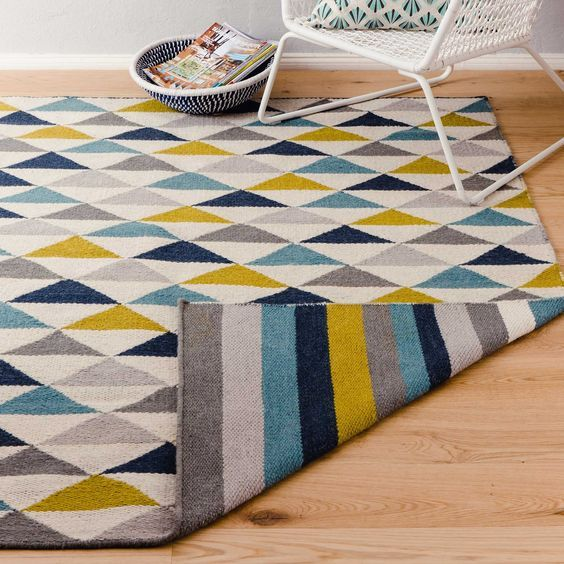 Teppich Barli [Olivgrün]- 140×200 cm