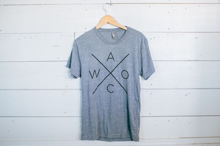 "You may have seen Jo sporting this ""Waco"" shirt in season 2! This super soft and comfy heather gray t-shirt..."