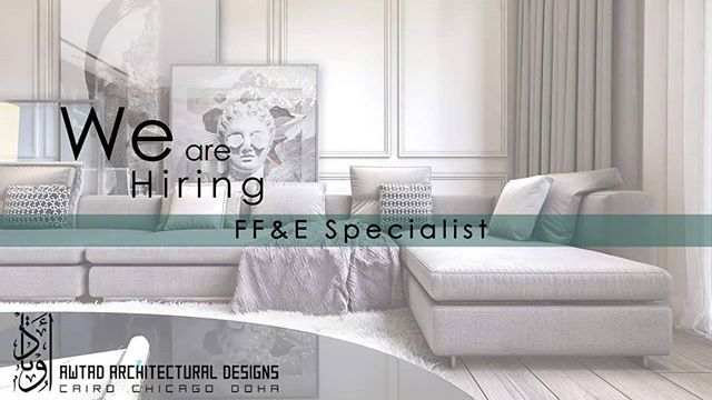 We Are Hiring Awtad Architectural Designs Is Inviting Qualified